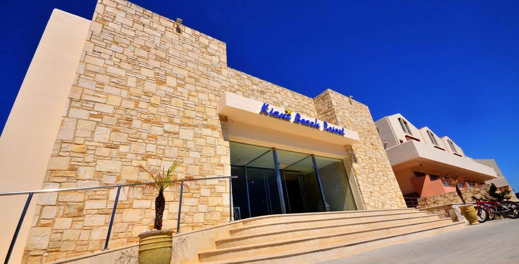 Willkommen im Kiani Beach Resort 5*