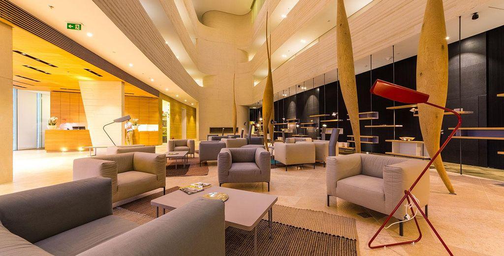 Ein überaus komfortables Hotel