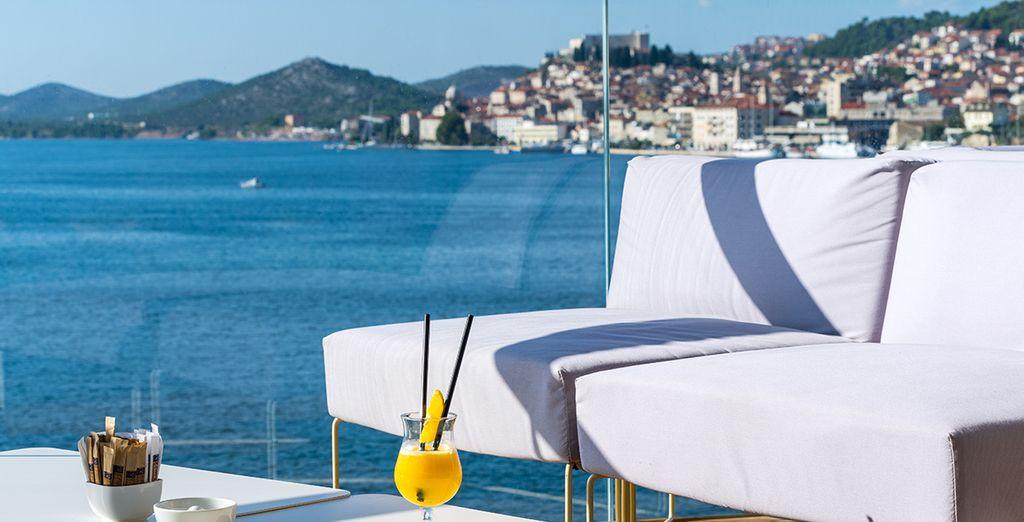 Hier können Sie Cocktails am Meer genießen