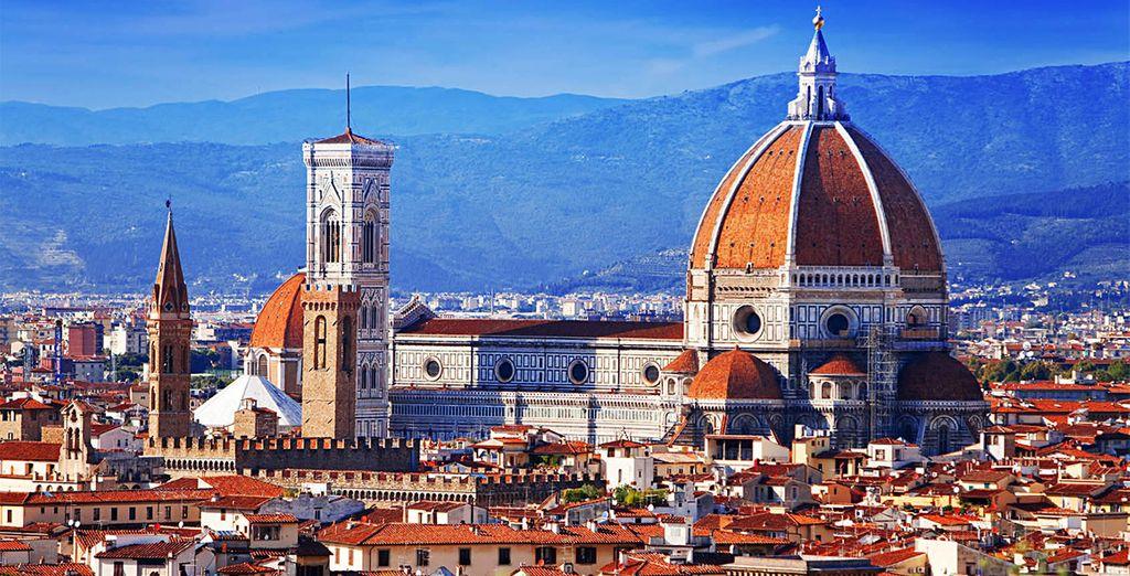 Willkommen in der Metropole Florenz