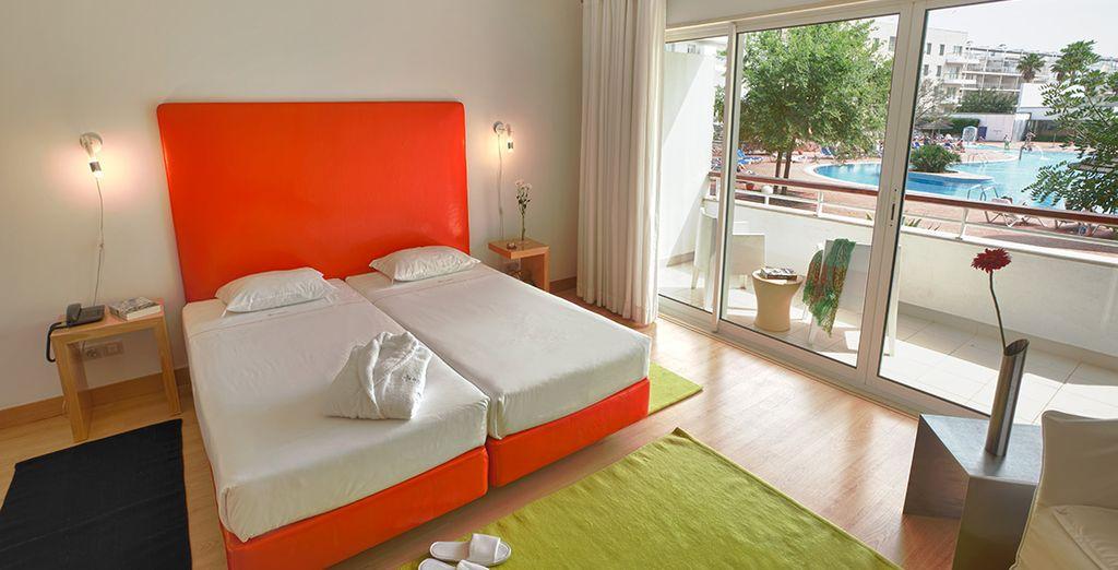 Gut ausgestattet und mit einem echten Schlafbereich für Ihren Komfort...