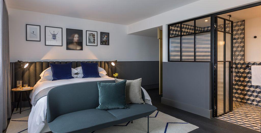 Jedes Zimmer ist indiviudell gestaltet