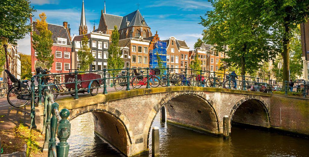 Wir wünschen Ihnen einen schönen Aufenthalt in Amsterdam!
