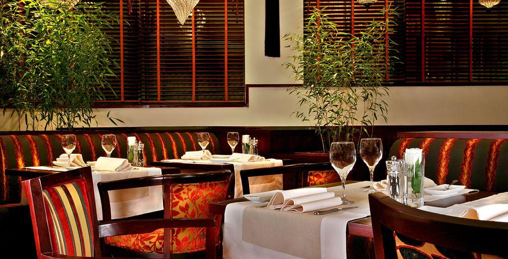Besuchen Sie das Hotelrestaurant