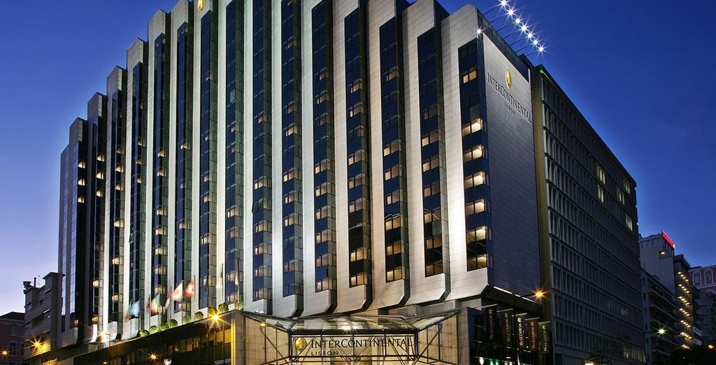 Im 5* Intercontinental Hotel
