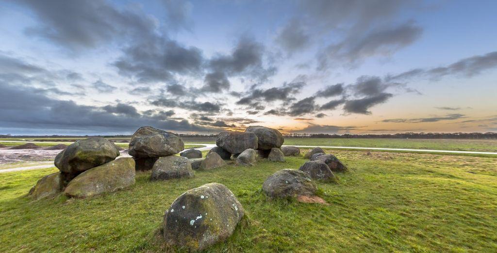 Entdecken Sie die Megalithen in der schönen Provinz Drenthe