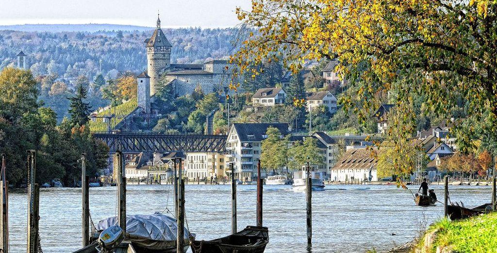 Herzlich willkommen in Schaffhausen in der Schweiz!
