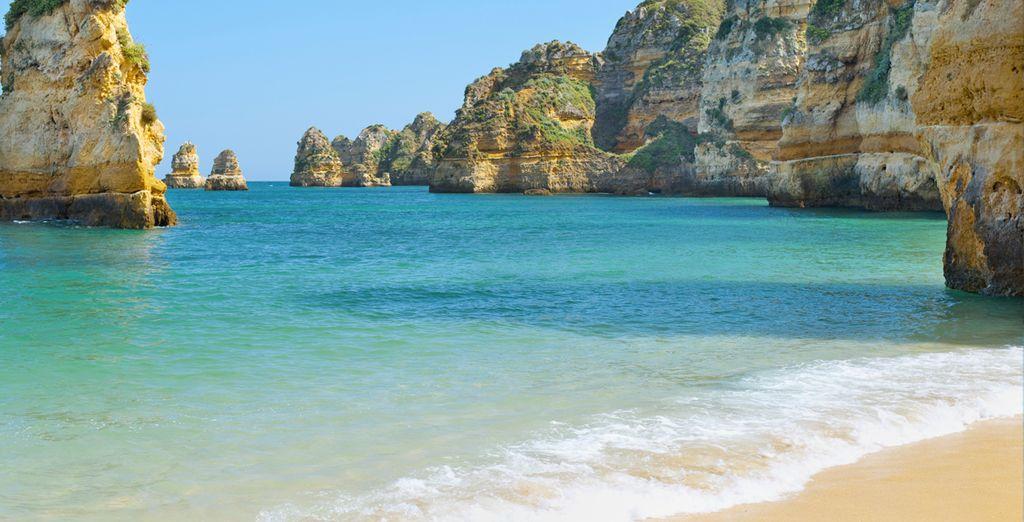 Genießen Sie die Strände Südportugals