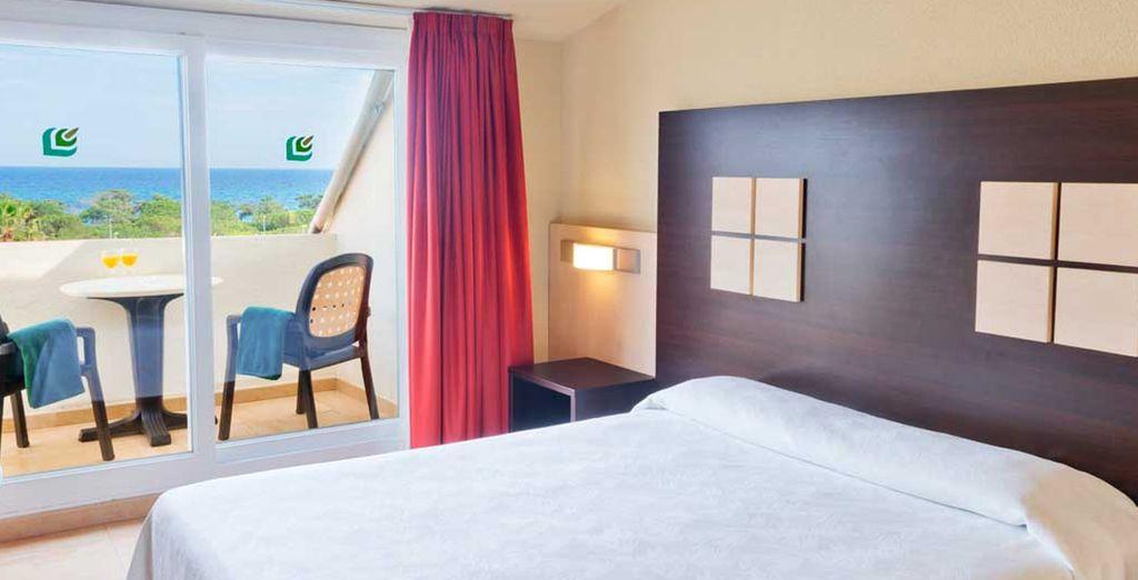 Entspannen Sie sich in Ihrem Premium Zimmer