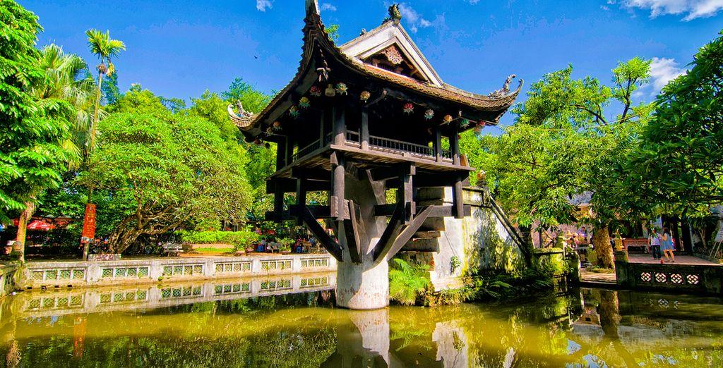 Besuchen Sie die buddhistischen Tempel