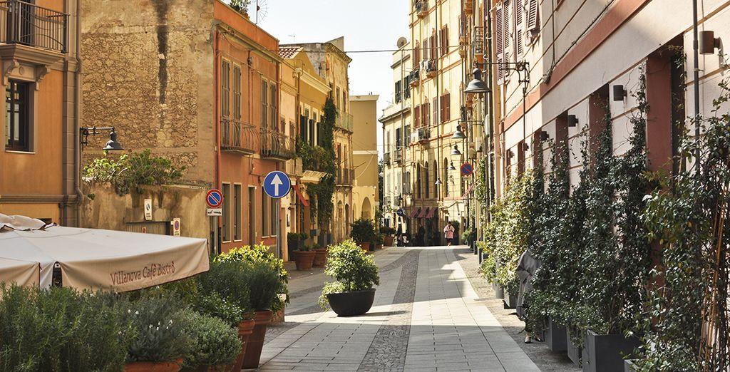 Und schlendern Sie durch Cagliaris Altstadt