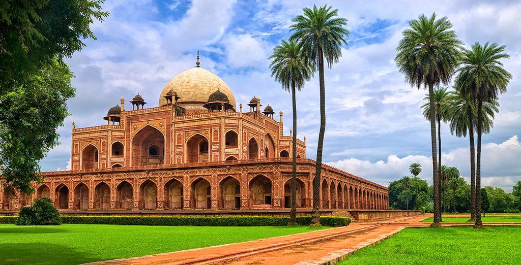 Begeben Sie sich auf nach Delhi, eine Metropole mit vielen Facetten