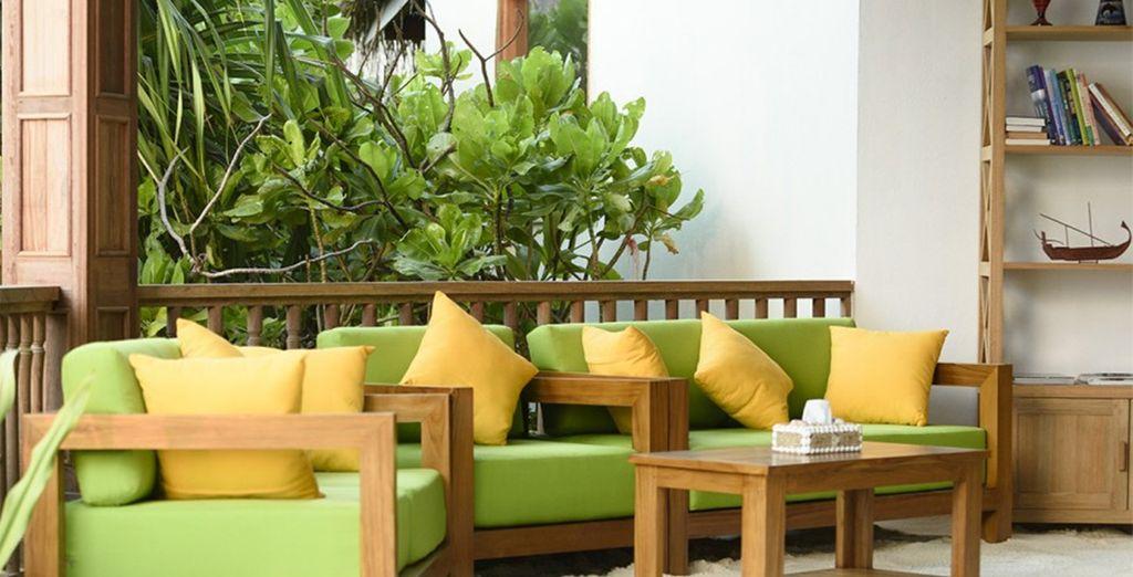 Ein nagelneues Resort perfekt zum entspannen