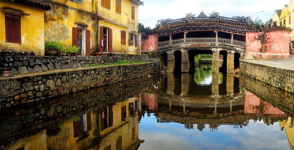 Besichtigen Sie die Altstadt von Hoi An...
