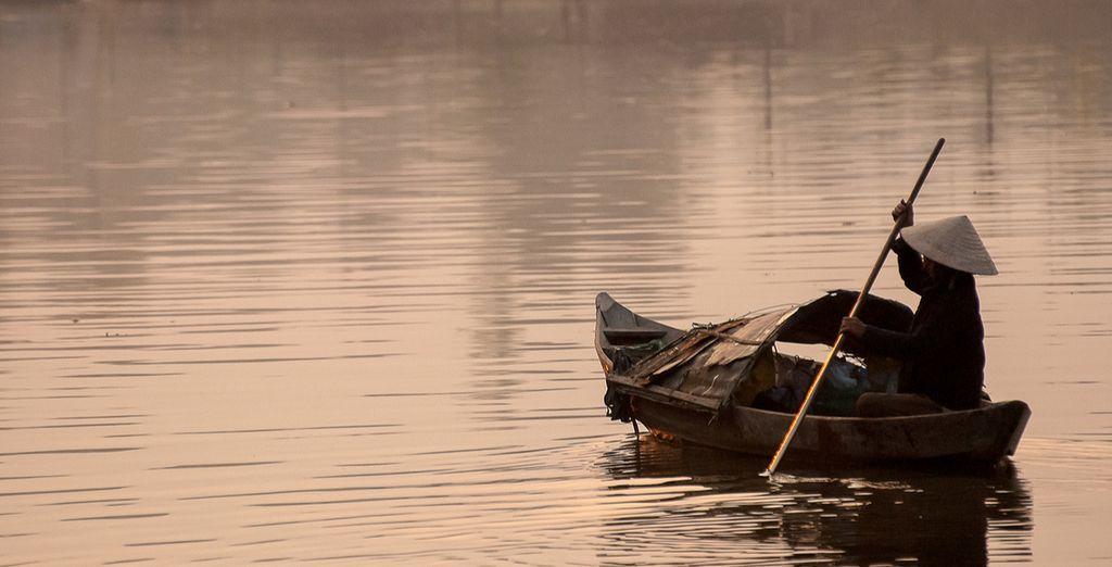 ... und den Thu Bon River