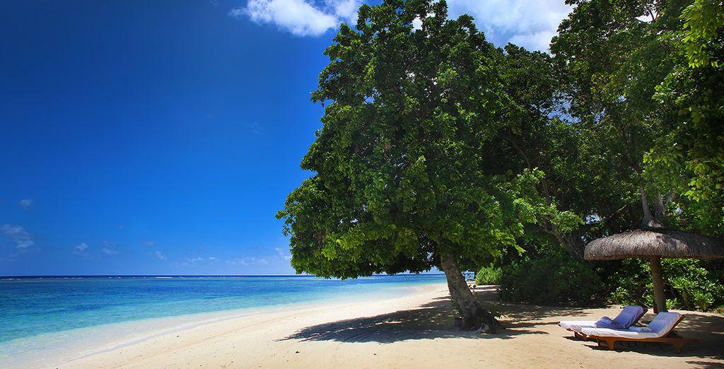Bevor Sie am direkt am Strand entspannen