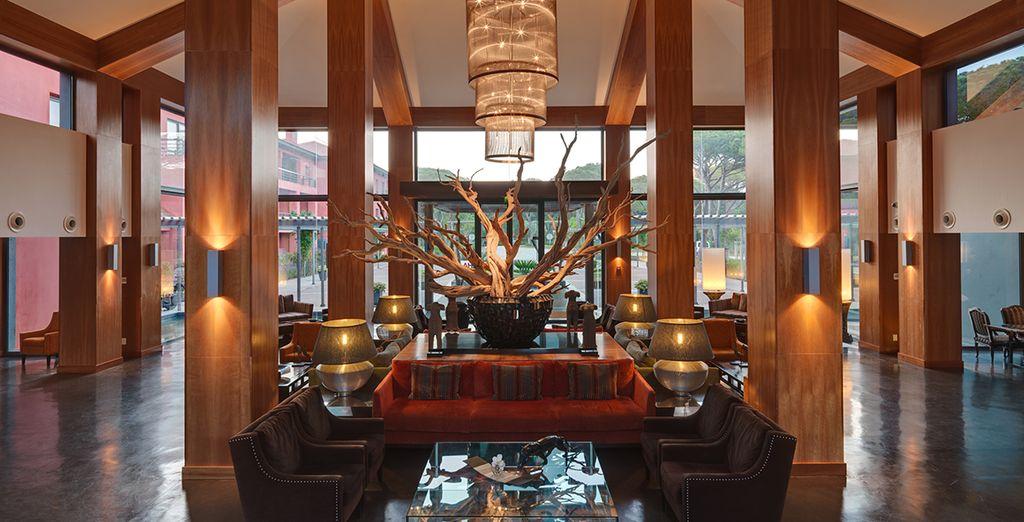 Ein luxuriöses Interieur erwartet Sie