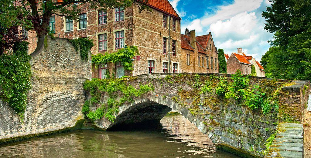 Entdecken Sie die schöne Stadt Brügge