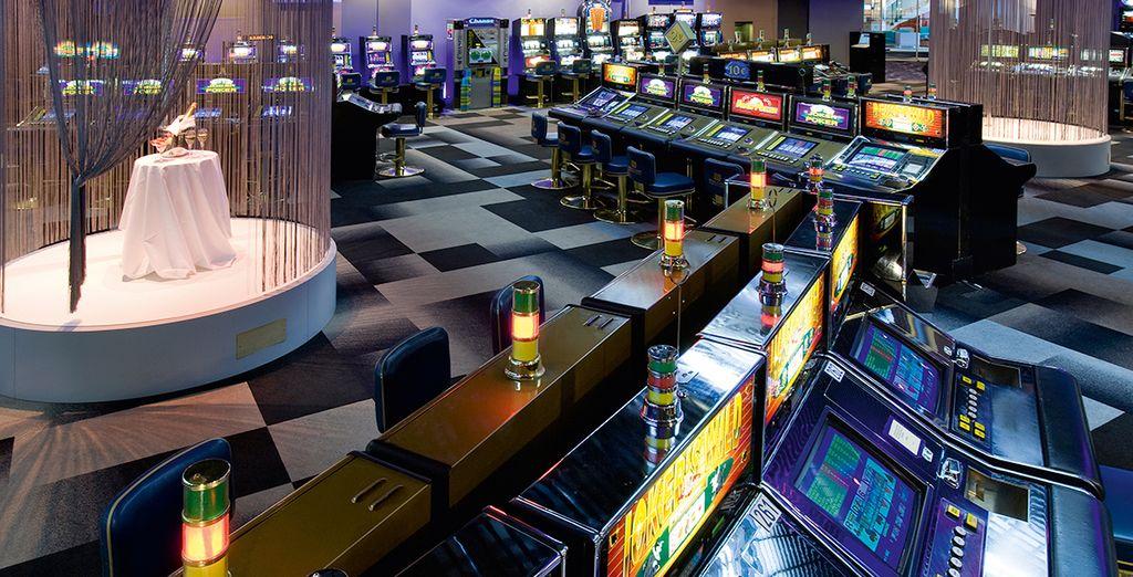 Oder versuchen Sie Ihr Glück im Casino!
