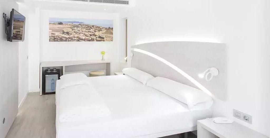 Sie übernachten in einem Standard Zimmer