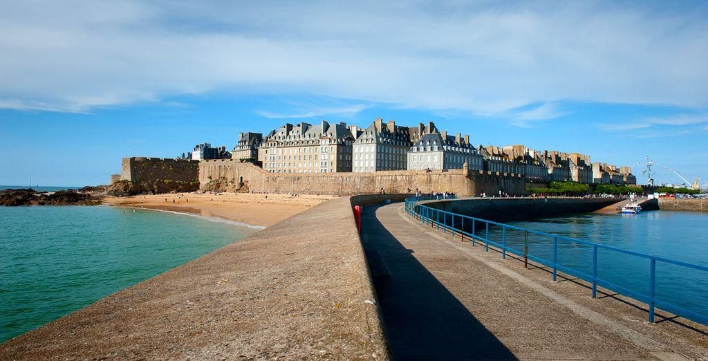 Entdecken Sie St Malo