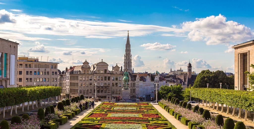 Willkommen in der Kulturstadt Brüssel!