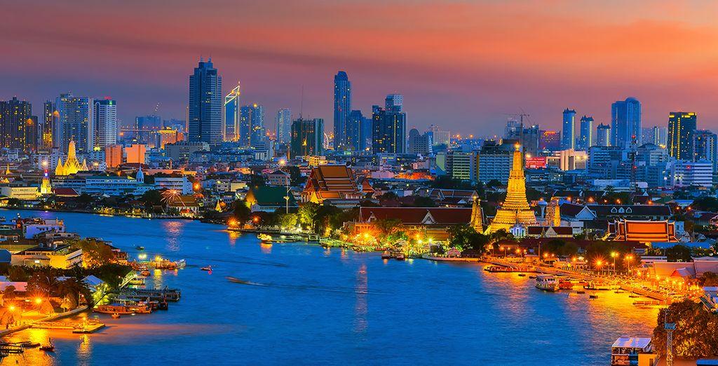 Und gleichzeitig eine von Asiens aufregendsten Metropolen entdecken?