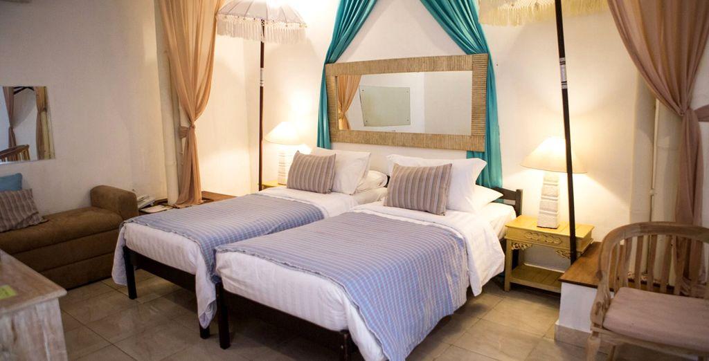 Bevor Sie auf Ihr elegantes Grand Deluxe Zimmer gehen