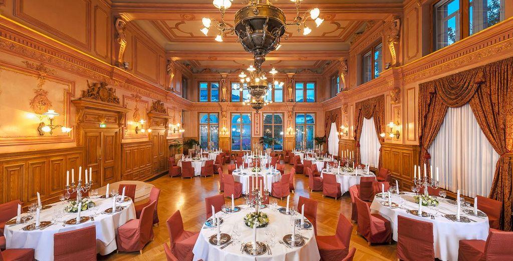 ... entdecken Sie ein edles Hotel in Baden-Baden