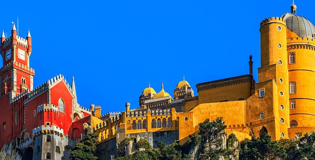 Entdecken Sie die berühmten Wahrzeichen wie die Sintra-Burg