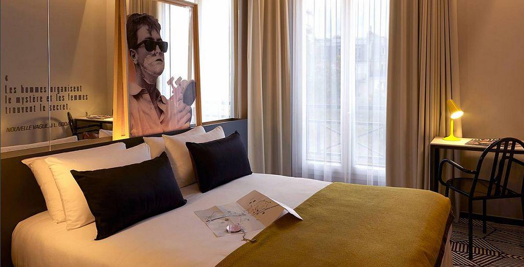 Das Hotel Gaston erwartet Sie