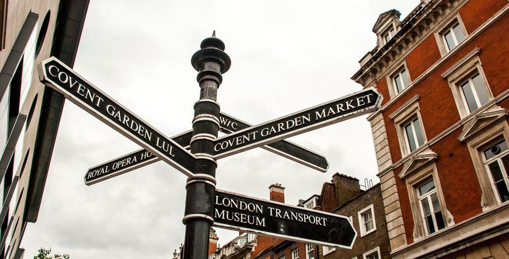 Entdecken Sie Londons tolle Sehenswürdigkeiten