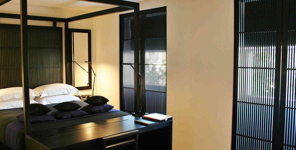 Wo Sie eine ultra-stylische Junior Suite beziehen werden