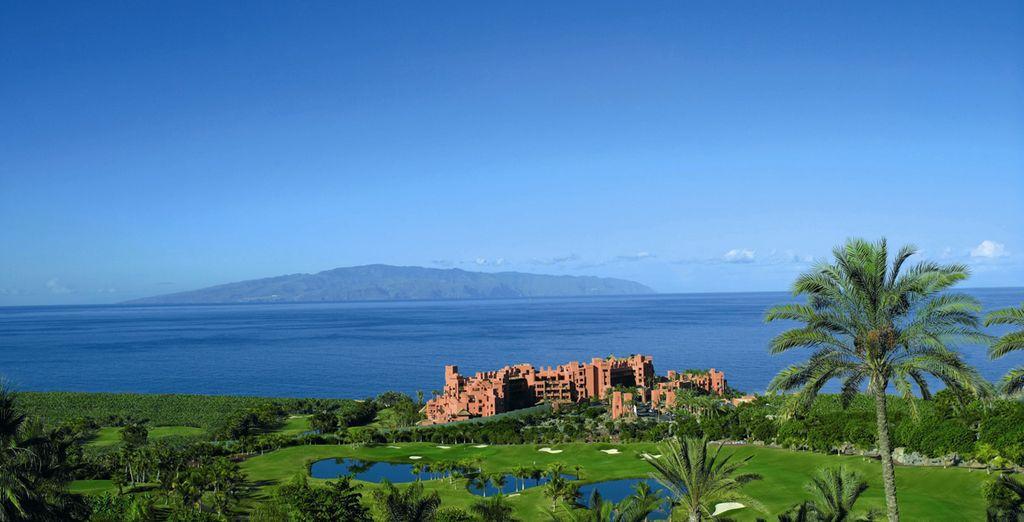 ... und den Blick auf die Insel La Gomera
