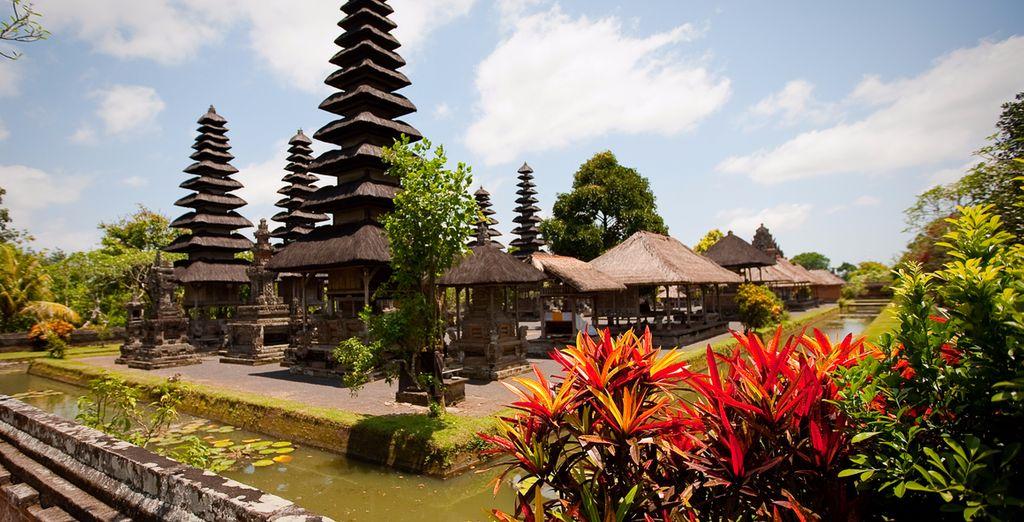 Taman Ayun, der königliche Tempel von Mengwi zählt zu den berühmtesten Tempeln von Bali
