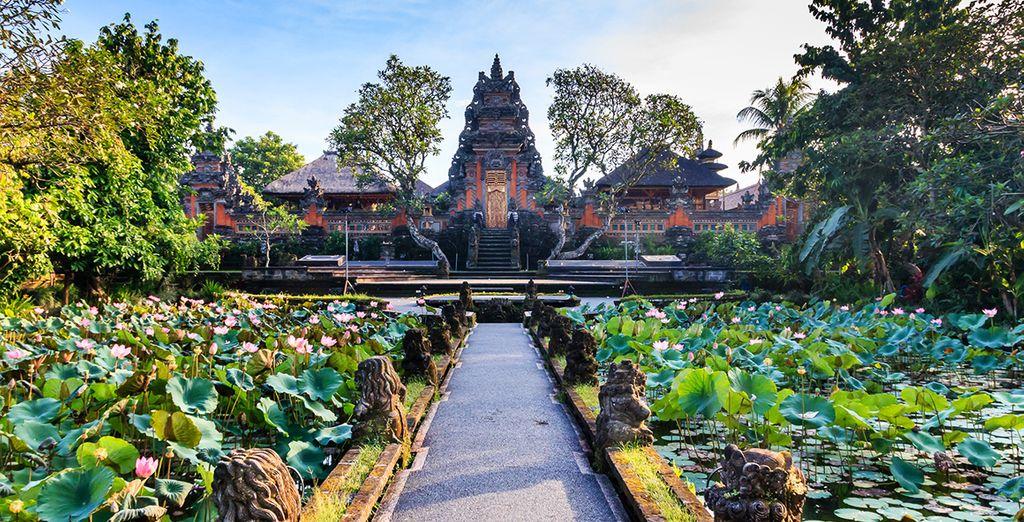 Ubud ist das kulturelle Zentrum der Insel