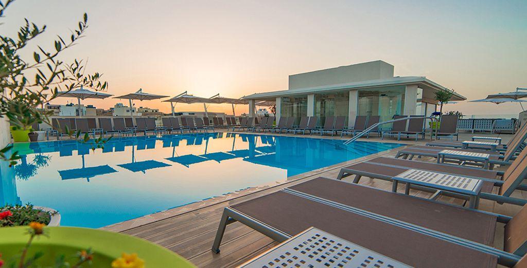 Das Maritim Antonine Hotel & Spa 4* lädt Sie zum Entspannen ein
