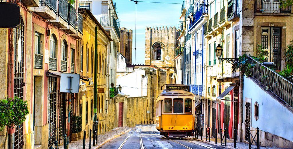 Die farbenfrohe Hauptstadt Portugals!