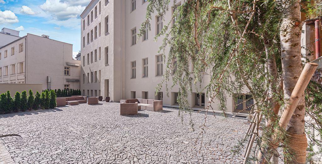 Versteckt hinter einem Palazzo aus dem 19. Jahrhundert befindet sich ein Schatz