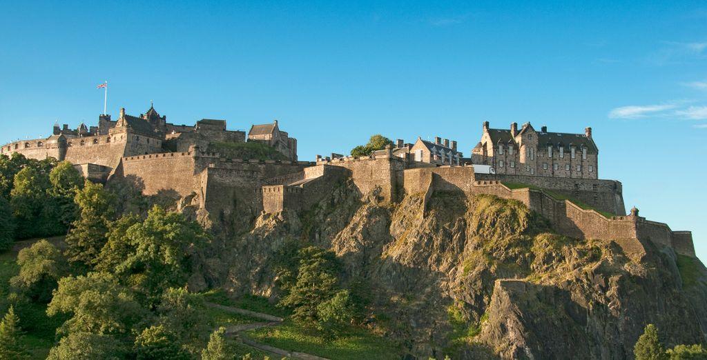 Entdecken Sie Edinburgh Castle