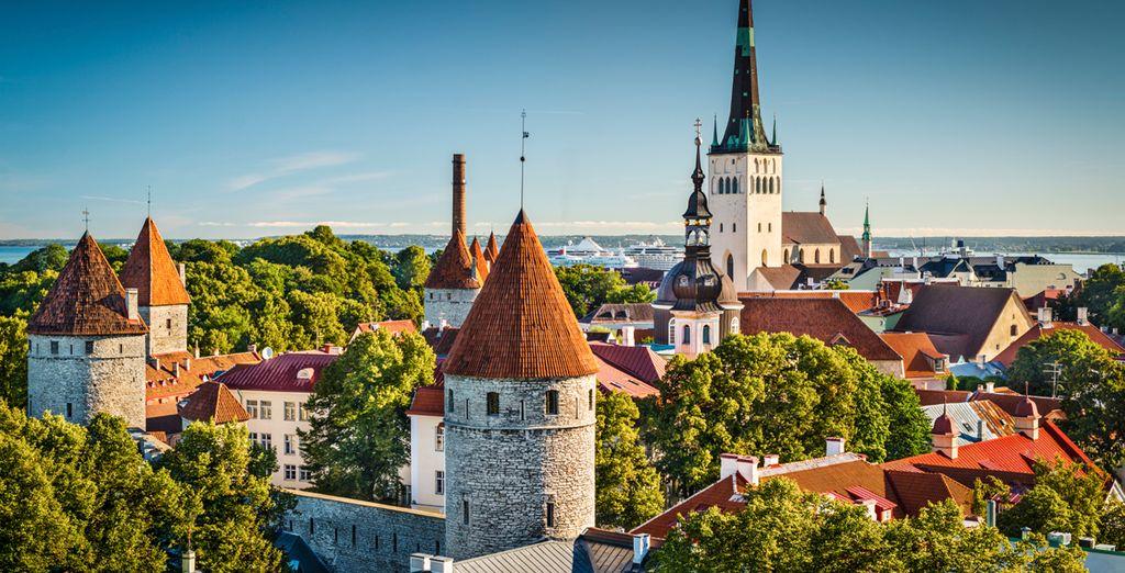 Reisen Sie weiter nach Tallinn in Estland
