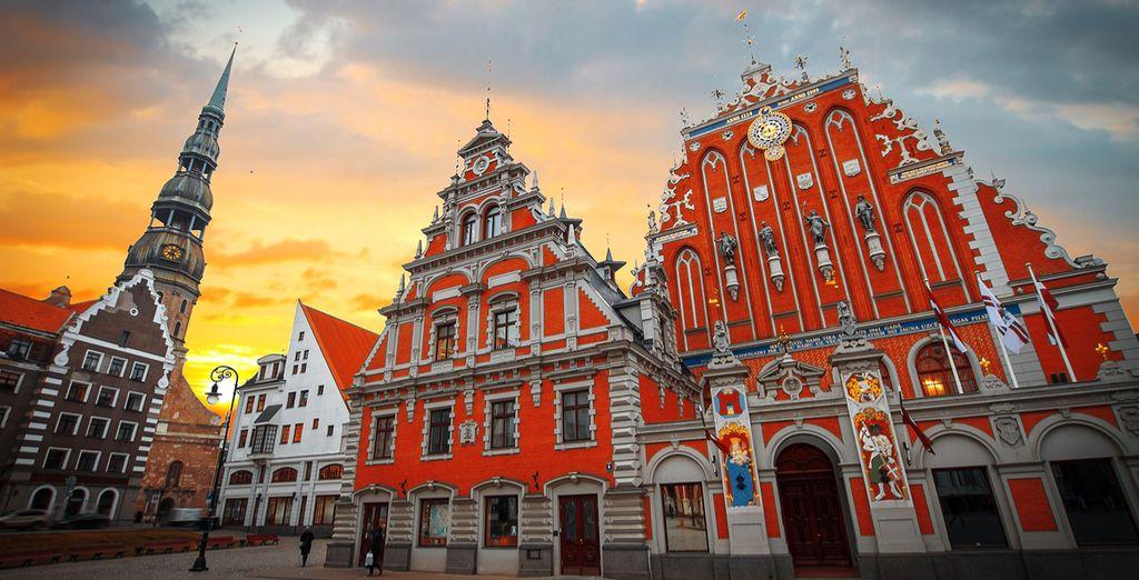 Dann geht es weiter nach Riga