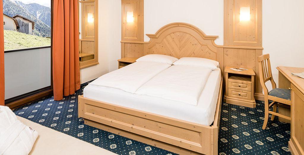 Entspannen Sie sich in Ihrem komfortablen Zimmer