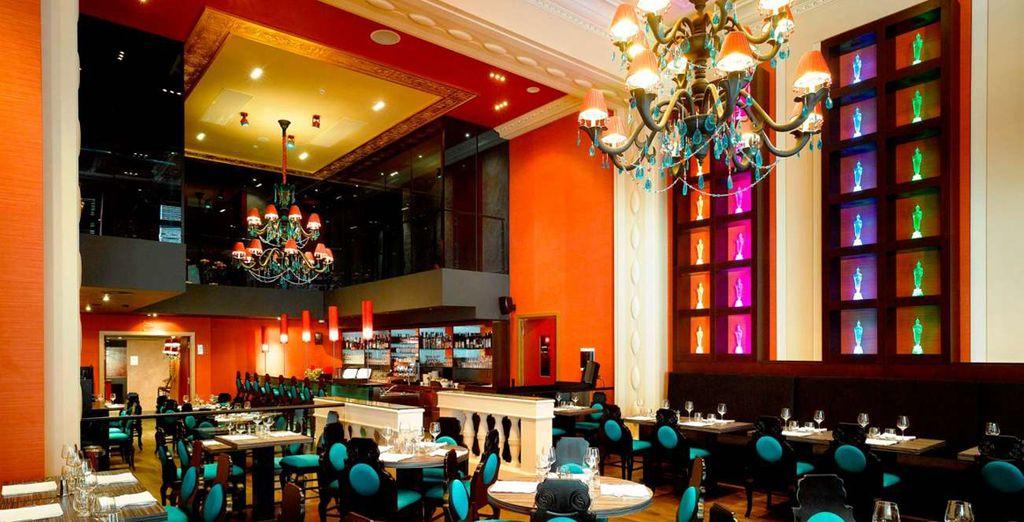 Probieren Sie die Köstlichkeiten des Hotelrestaurants
