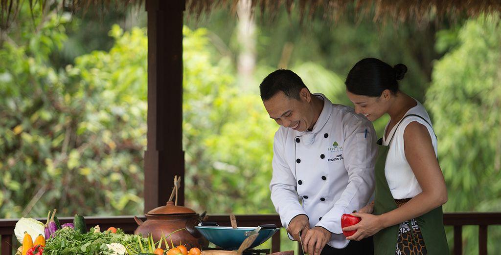 Erkunden Sie die balinesischen Aromen während eines Kochkurses
