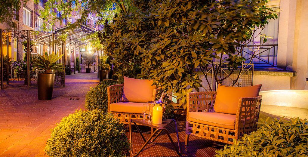 Das Hotel liegt im typisch Pariser Viertel Marais