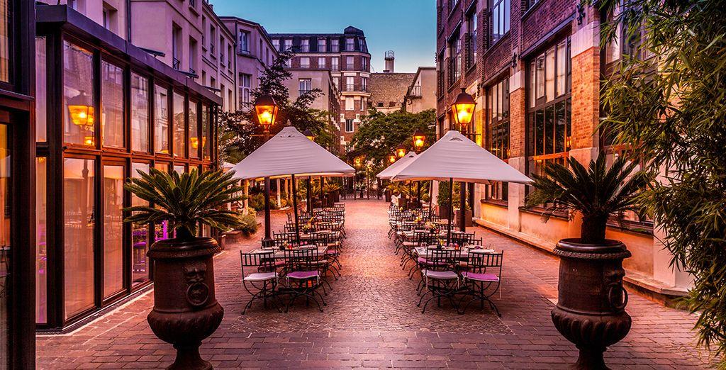 Und das ein idealer Ausgangspunkt ist, um den Charme und die Eleganz des legendären Paris zu genießen