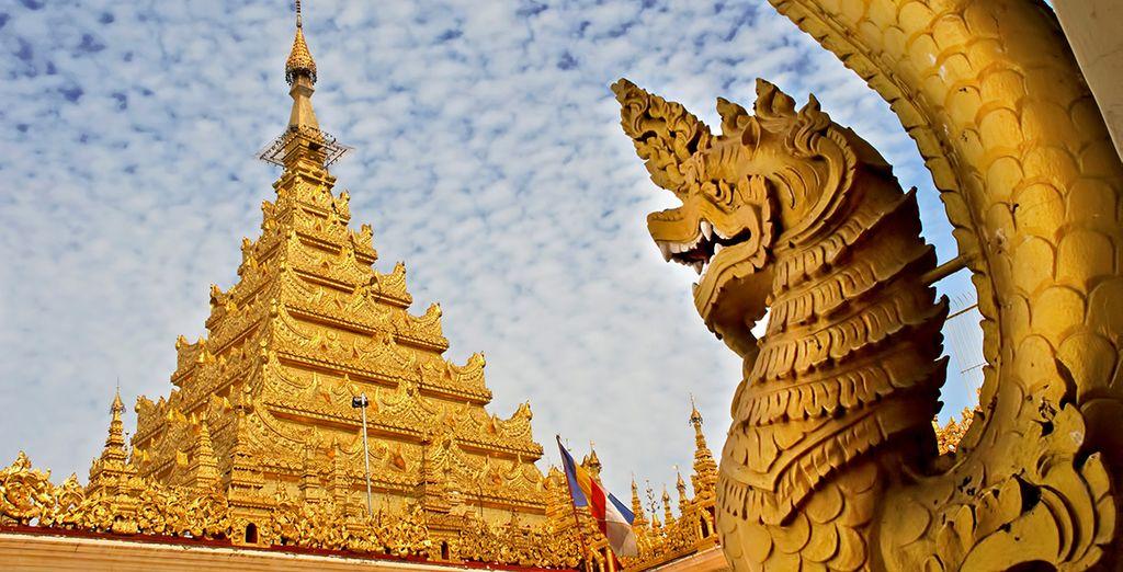 Besuchen Sie Mandalay und die Mahamuni Pagode