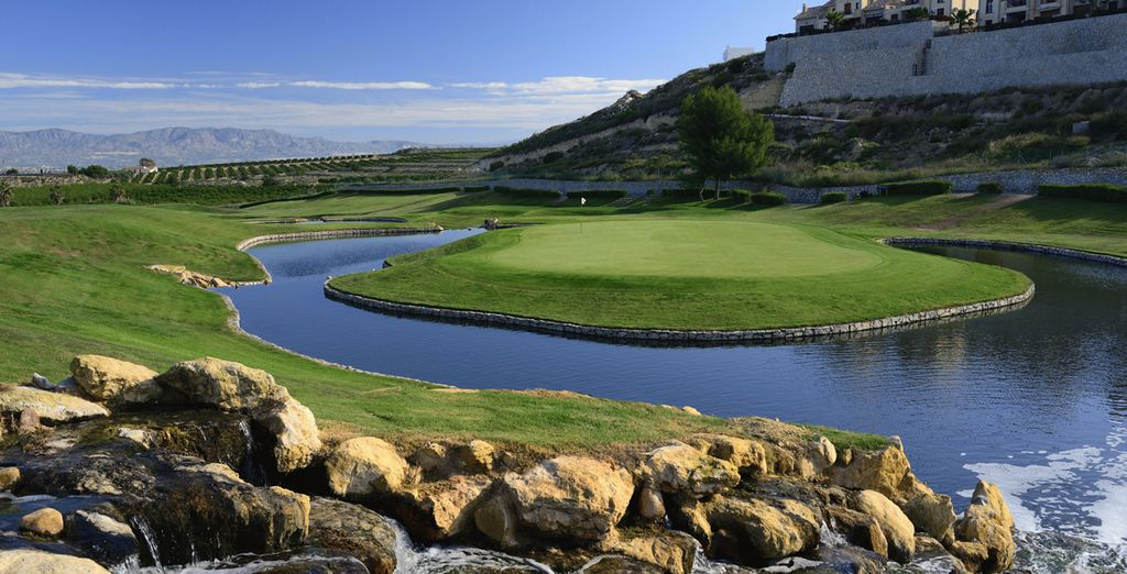Im Herzen des Golfplatzes La Finca...