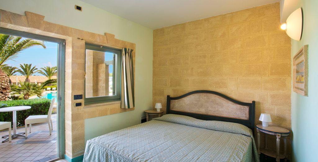 Genießen Sie ruhige Nächte in Ihrem schönen Classic Zimmer